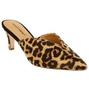 Comfortview Angeline Mule leopard 7 1/2 ww